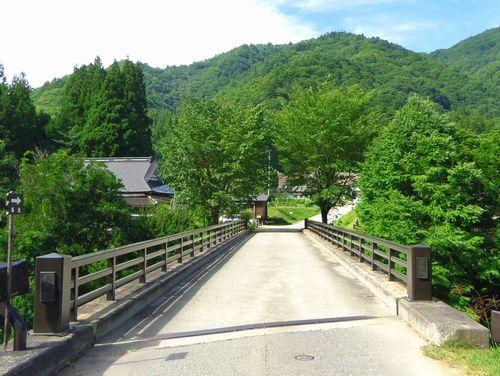 前沢曲屋集落5前沢橋