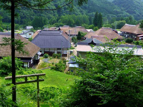 前沢曲屋集落17鹿島神社