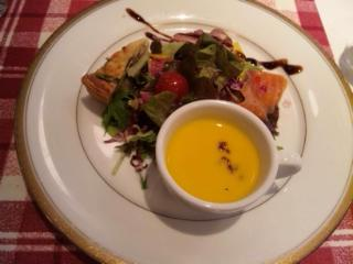 ビストロランチ スープ サラダ