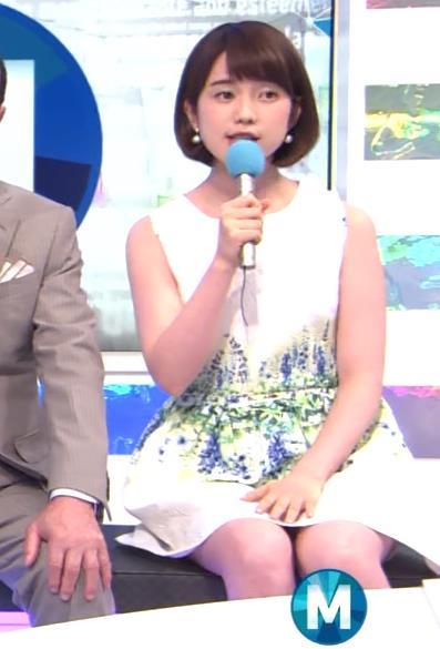 弘中綾香 太ももキャプ・エロ画像2