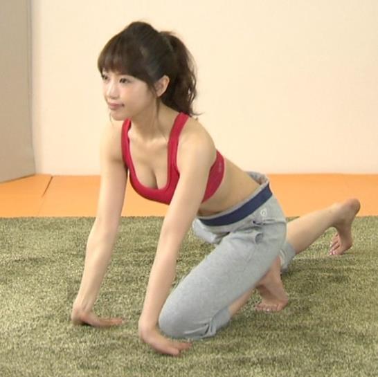 舟山久美子 巨乳キャプ・エロ画像2
