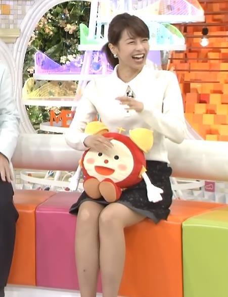 加藤綾子 ミニスカートキャプ・エロ画像3
