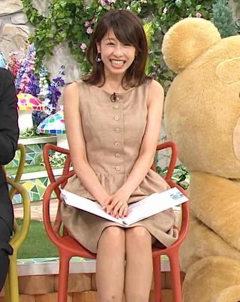 加藤綾子 胸元キャプ・エロ画像2