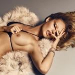 南アフリカのスーパーモデル Candice Swanepoel(キャンディス・スワンポール)がLUI MAGAZINEでトップレス