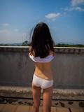 中国美少女 濡れシャツ透け乳首画像 5