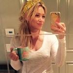 Hilary Duff(ヒラリー・ダフ)が乳首ポッチ写真をSNSにアップ?