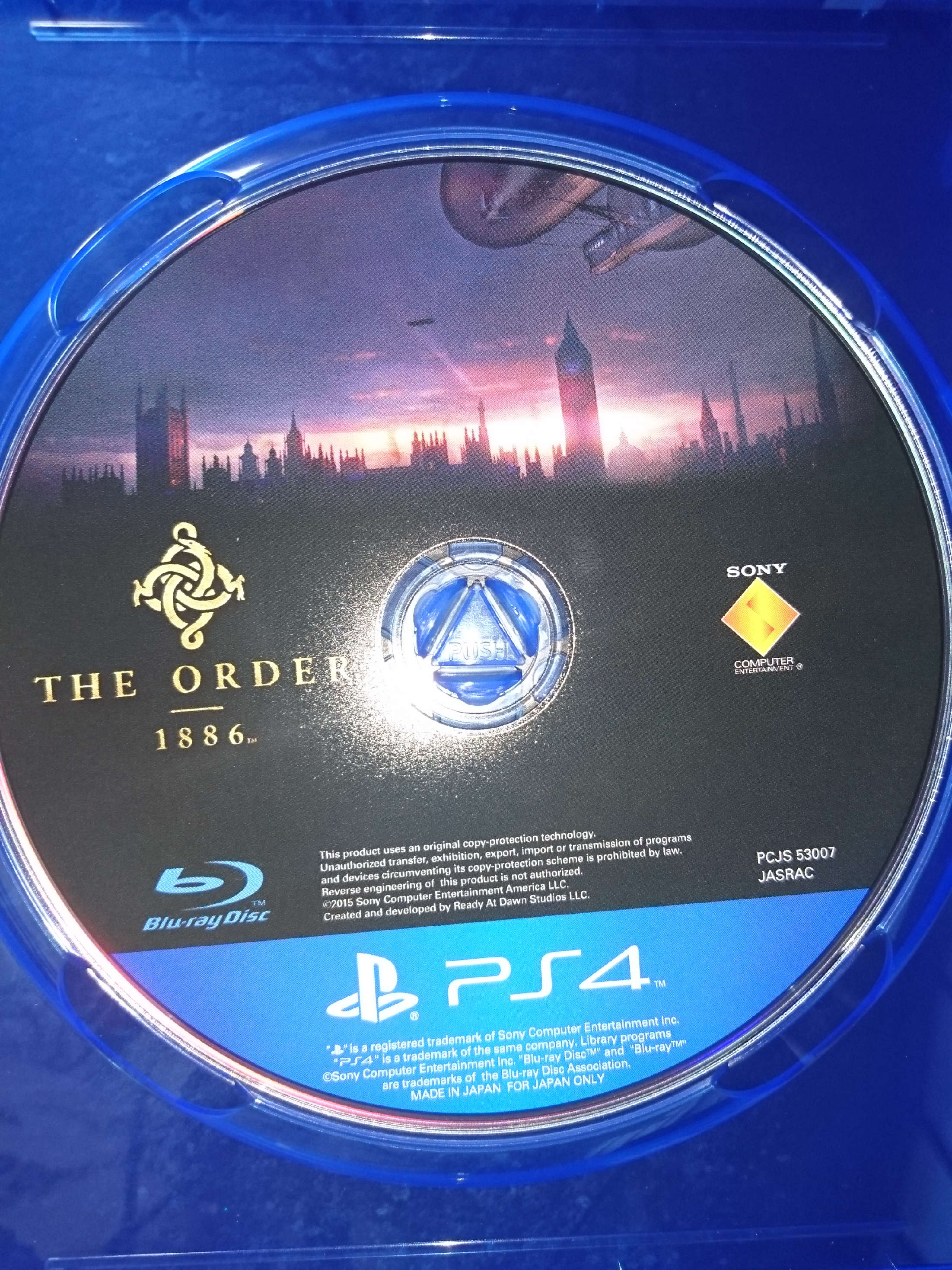 The Order 1886 ディスク