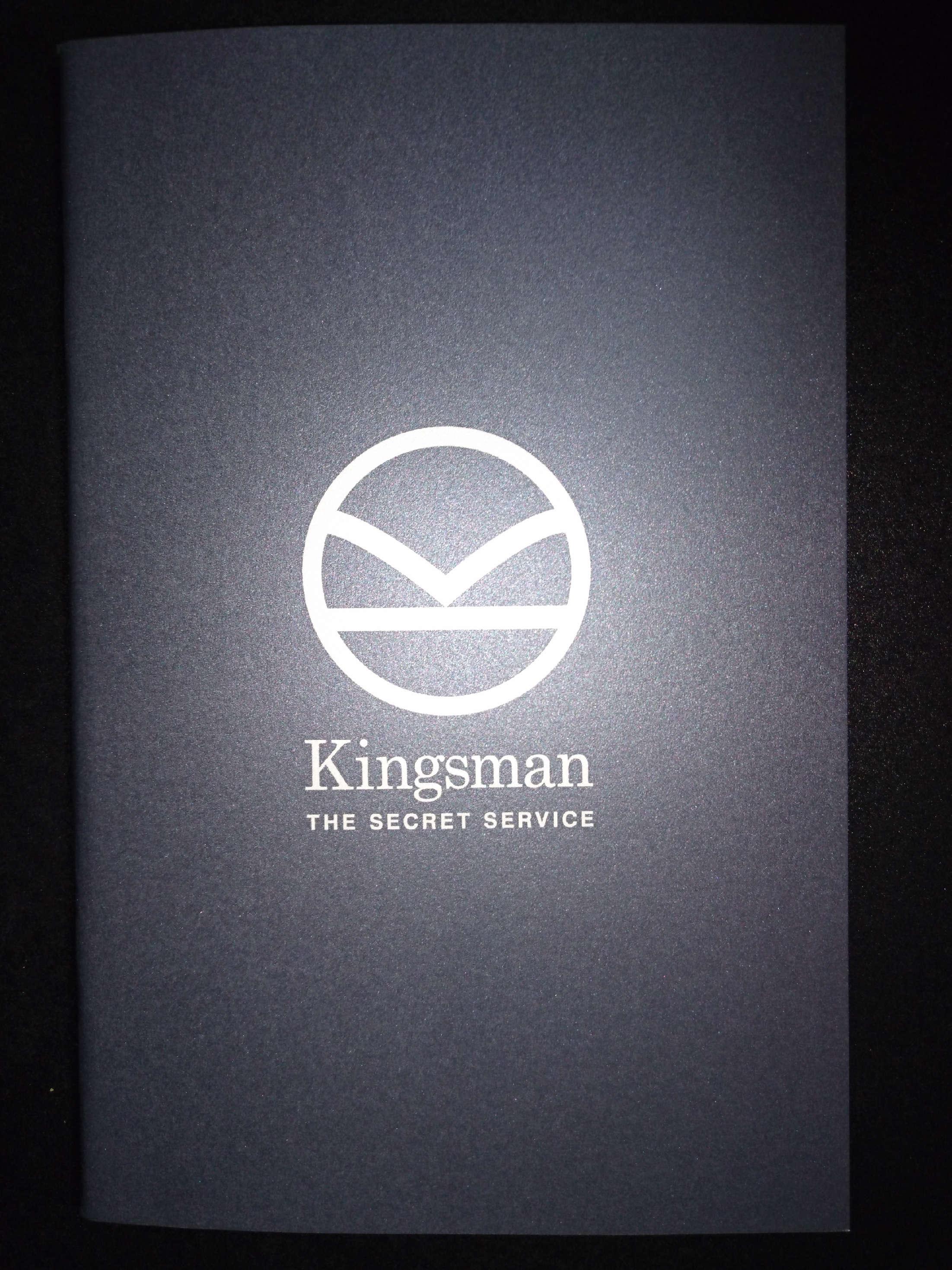 キングスマンパンフ