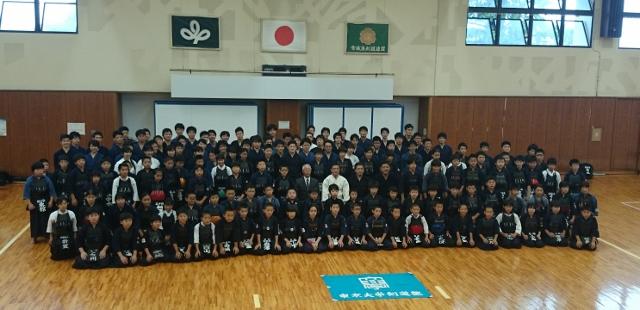 東京大学剣道部合宿での講習会に参加