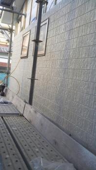 外壁の施工②
