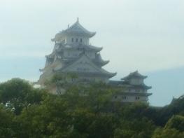 出張の空き時間に姫路城を訪れました。
