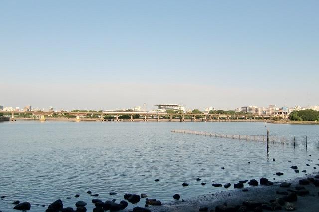 京浜運河 大井競馬場前