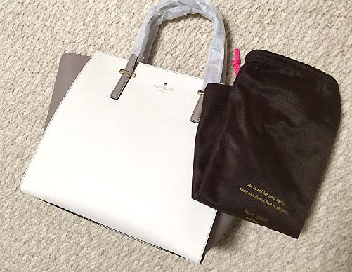 「Kate Spade(ケイト・スペード)」のバッグです