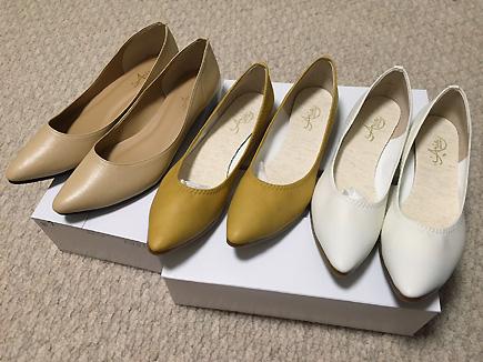 お馴染み「iara」の靴。