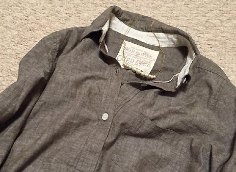 茶色シャツ、「きっちり系」として使えるかも??