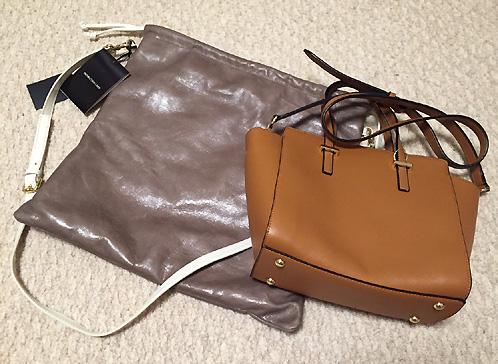 「nano universe」と「HITCH HIKE」で見つけたバッグです