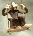 ブランコ猿