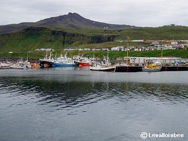 アイスランドの漁港P1010092dw