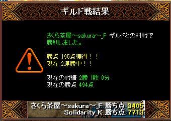 RedStone 15.09.13 結果
