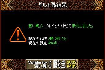 RedStone 15.09.16 結果
