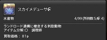 新生14 547日目 スカイメデューサHQ