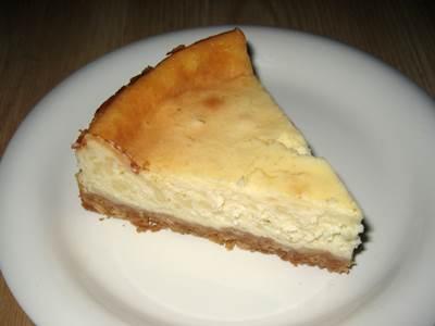 ヨーグルトケーキ カット