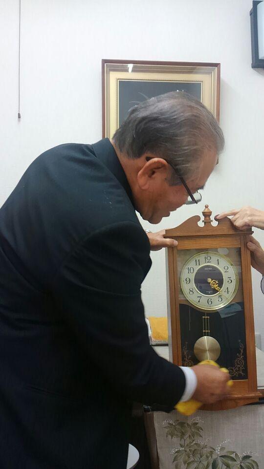 時計メンテ