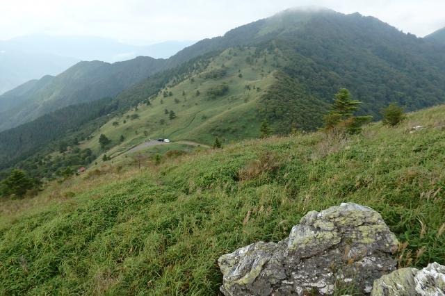 笹山を少し登ってみた