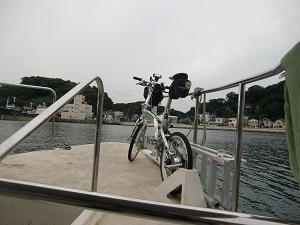 浦賀で船輪行