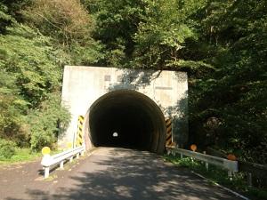 隧道がピーク