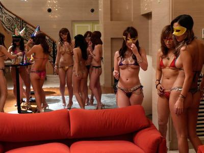 SEX依存症の淫乱痴女を集めてド変態な乱交パーティが開催された模様