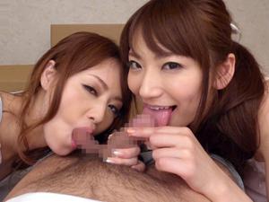 美人痴女姉妹とのルームシェアで毎日ザーメンを搾り取られる 吉沢明歩 香西咲