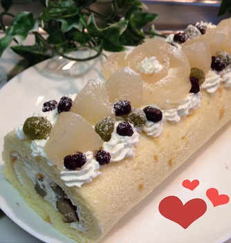 梨ケーキ4