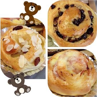 9月手作りパン2