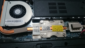 PC-LL550WG6 CPU交換