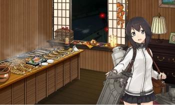 秋刀魚を焼く執務室