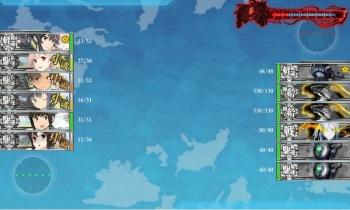 201510 3-5ボス戦指揮艦矢矧