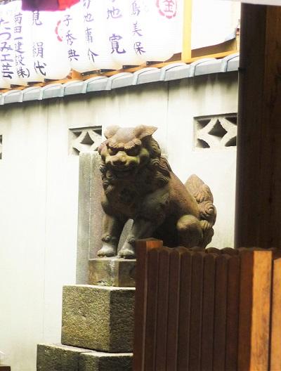 御金神社-狛犬その1