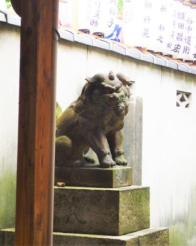 御金神社-狛犬その2