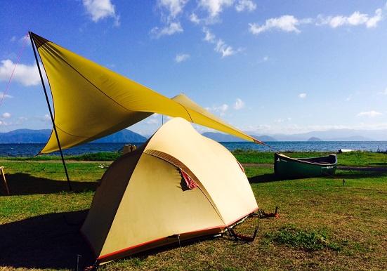 琵琶湖カヌー (2)