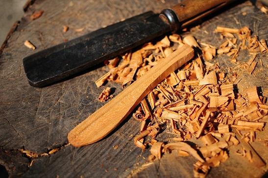 ウッドナイフ制作過程1