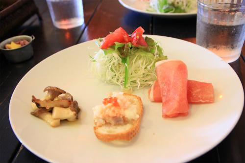 シバキチカフェ前菜