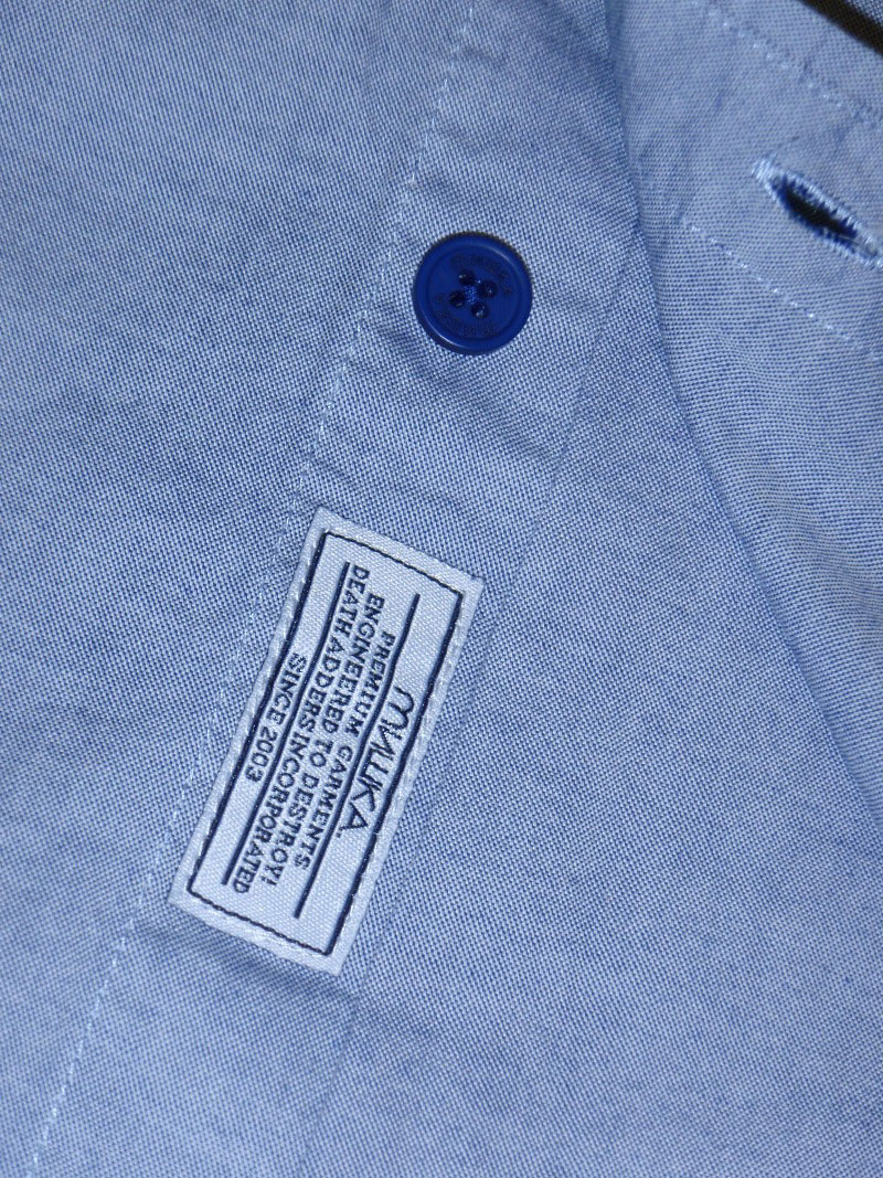 MISHKA Fall 2015 Button Down Shirt ボタンダウン シャツ STREETWISE ストリートワイズ 神奈川 湘南 藤沢 スケート ファッション ストリートファッション ストリートブランド