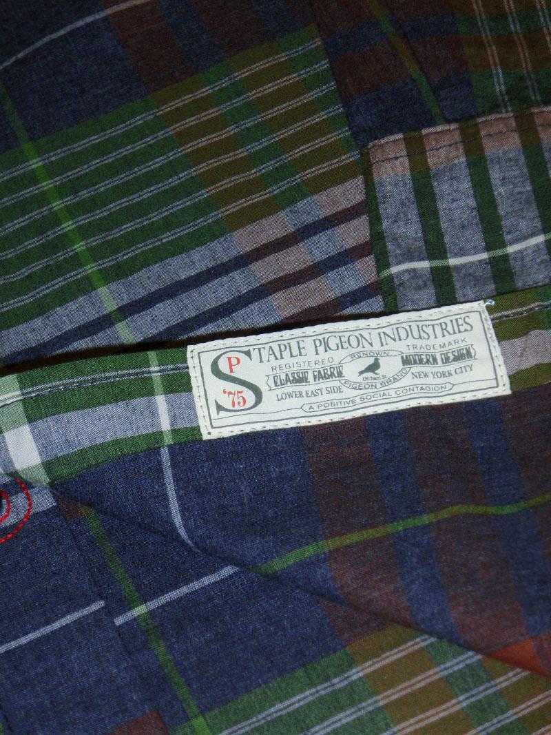 2015 Fall STAPLE Woven Shirt STREETWISE ステイプル シャツ ウーブン ストリートワイズ 神奈川 藤沢 湘南 スケート ファッション ストリートファッション ストリートブランド