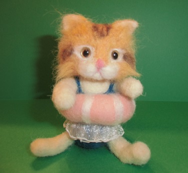 主人の浮輪猫ちゃんです