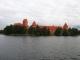 観光船から見たトラカイ城