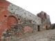 古城の城壁