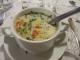 昼食に出たスープ