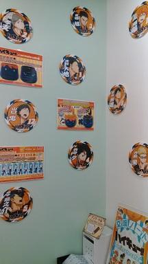 アニメイトカフェ ハイキュー軽10