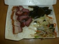 叉燒燒肉飯150914